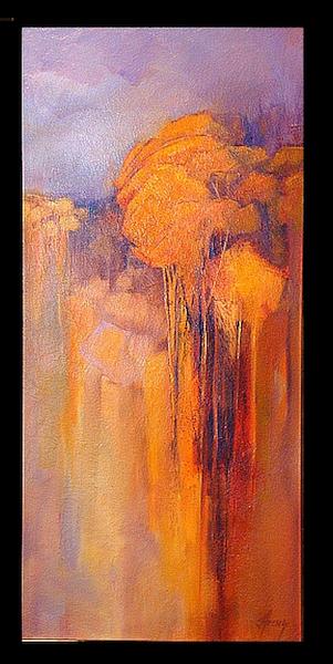 tall golden trees 30x14