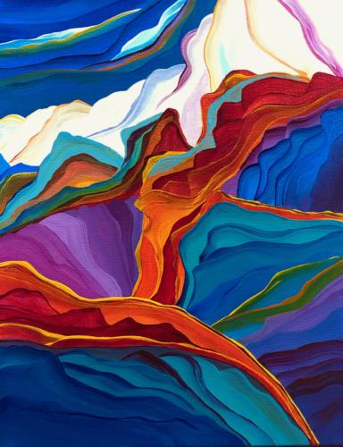 Rainbow Canyons14 X 11