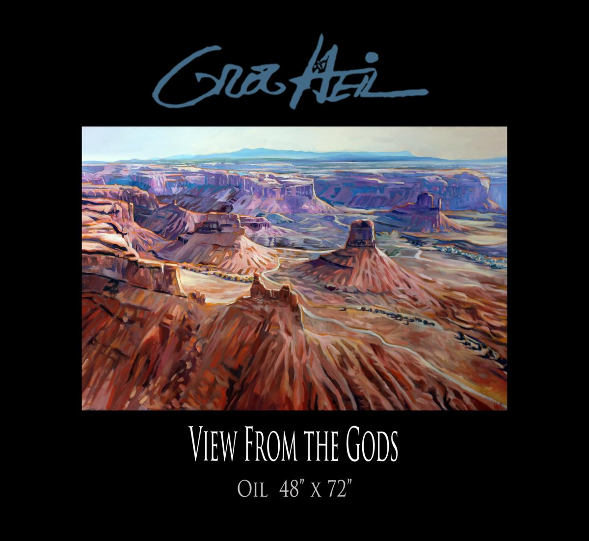View From the Gods Promo 48x72