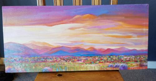 Golden Sunset 13x30 11185