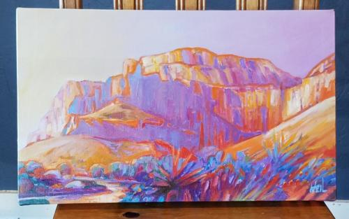 Into the Grand Canyon VI 12x20