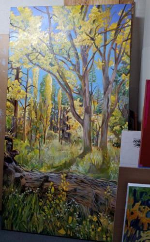 Oak Creek Fall 90x48