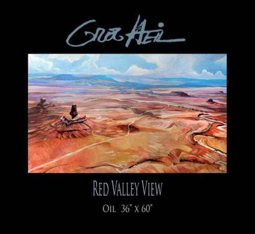 Red Valley View 36x60