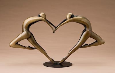 Arched Dancers 3  15x27x8