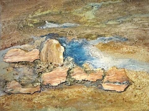 desert sand 36x48