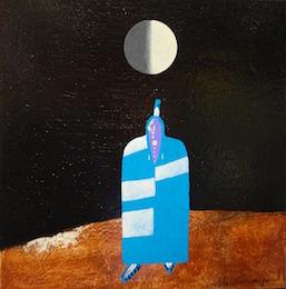 Half Moon  14x14