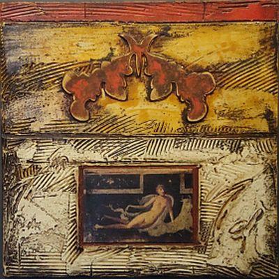 Garlands for Pompeii  20x20